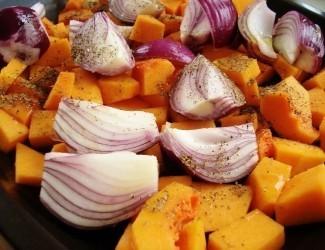 Roasted Vegetable and Pumpkin Seed Salad