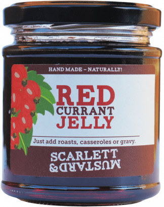 A 200g jar of Redcurrant Jelly
