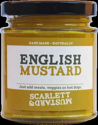 A 200g jar of English Mustard