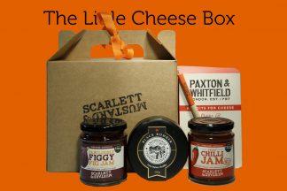 A mini hamper box for cheese lovers