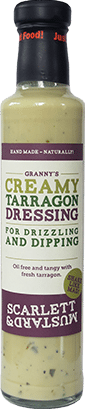 A 250ml bottle of Creamy Tarragon Dressing