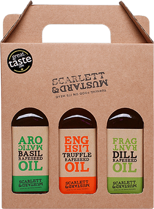 Scarlett & Mustard Oils