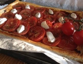 Tomato & Chilli Jam Tart