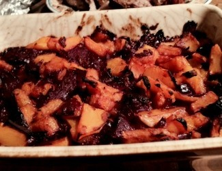 Winter Butternut Squash & Red Cabbage