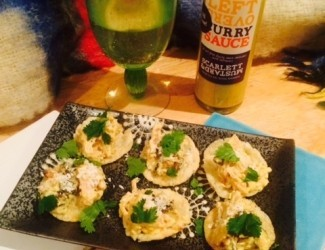 Coronation Chicken Canapes