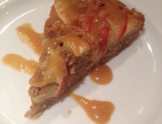 Toffee Apple Curd Spiced Cake