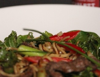 Scarlett's Ornamental Vegetable Stir Fry