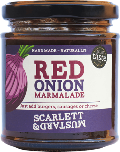 A 200g jar of Red Onion Marmalade