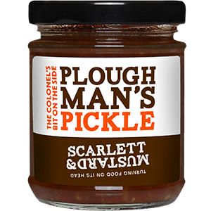 Zingy Ploughman's Pickle