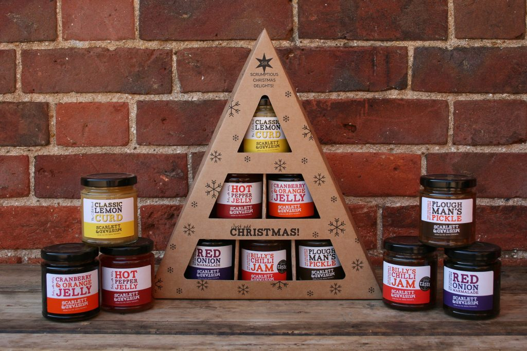 Christmas Triangle with products