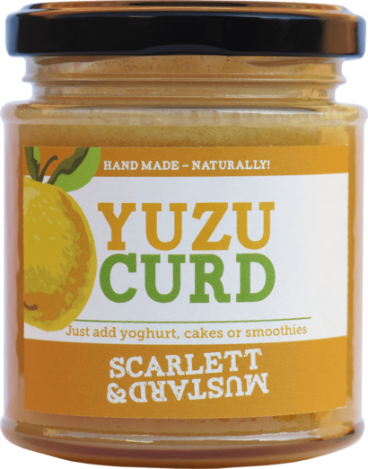 A 200g jar of Yuzu Curd