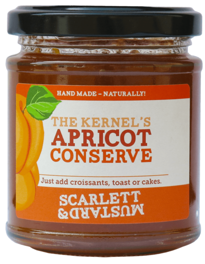 A 200g jar of The Kernel's Apricot Conserve