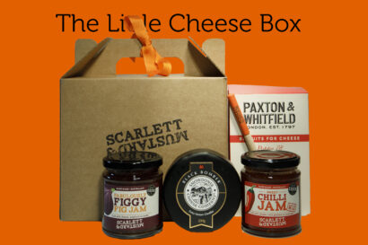A mini hamper box for cheese lovers