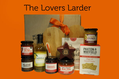 A hamper box for Valentine's Day